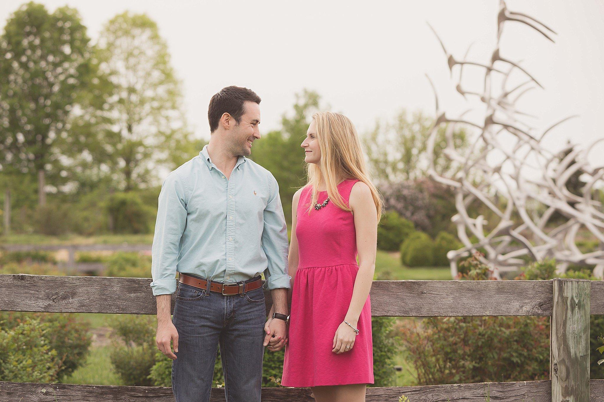 Shelby+Matt's Engagement Session at The Arboretum in Lexington, KY