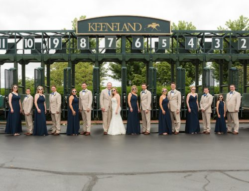 Greg & Megan's Keeneland Wedding – Lexington, KY